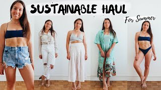 ETHICAL FASHION HAUL for European Summer» 7 brands try-on review!