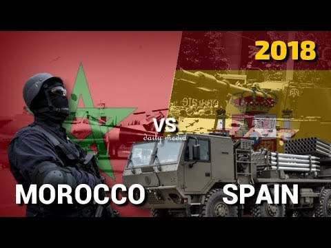 Morocco vs Spain - Military Power Comparison 2018