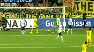 Video Gol Pertandingan Odd Grenland vs Borussia Dortmund