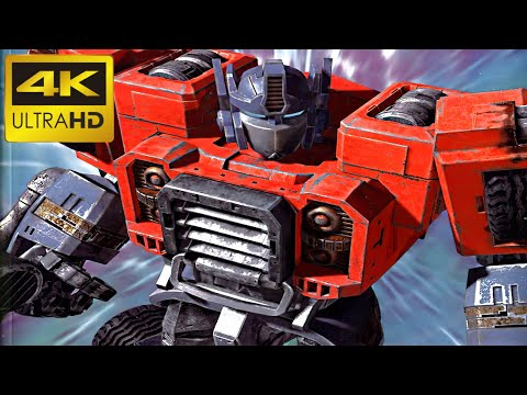 Transformers PS2 Game Armada | All Cutscenes | Remastered In 4k Using AI Machine Learning