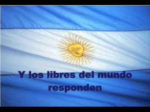 Himno Argentino con letra (Versión instrumental de Lito Vitale)