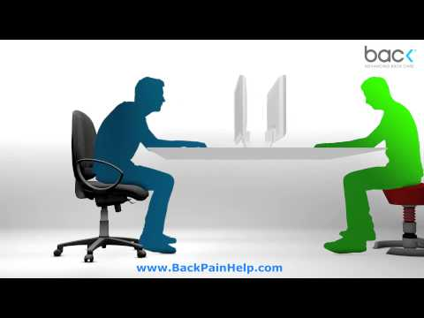 Do you have sitting disease? 3D Ergomomics with BackPainHelp.com