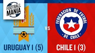 Uruguay 1(5)x(3)1 Chile - Copa America 1999 | Goals & Penalties