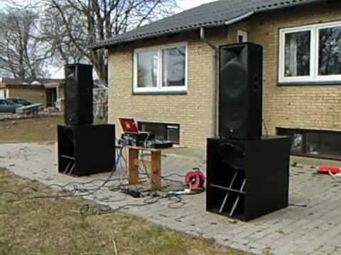 Home Made Subwoofers Youtube