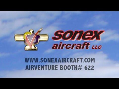 Sonex Aircraft at AirVenture 2016! -- Aero-TV Commercial