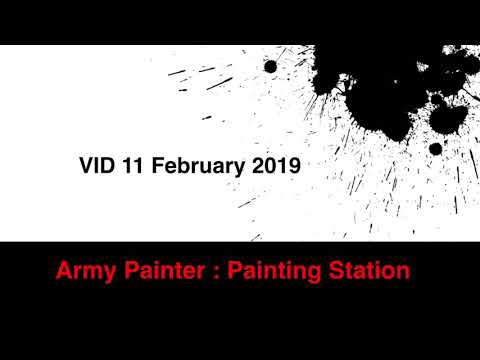 Army Painter Painting Station