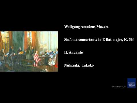 Wolfgang Amadeus Mozart, Sinfonia concertante in E flat major, K. 364, II. Andante