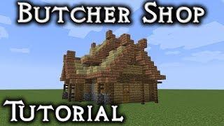 Minecraft: Rohan Butcher Shop Tutorial Vanilla YouTube