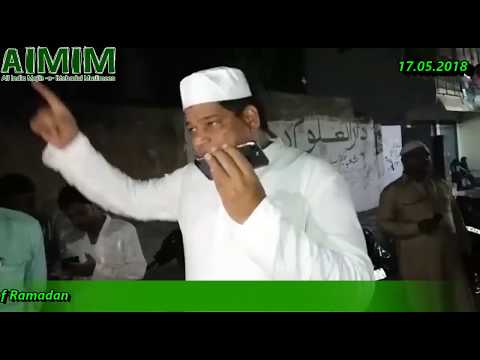 Ramzan Day 1 under Dark by Negliency and fake promises for arrangements made of GHMC Officers