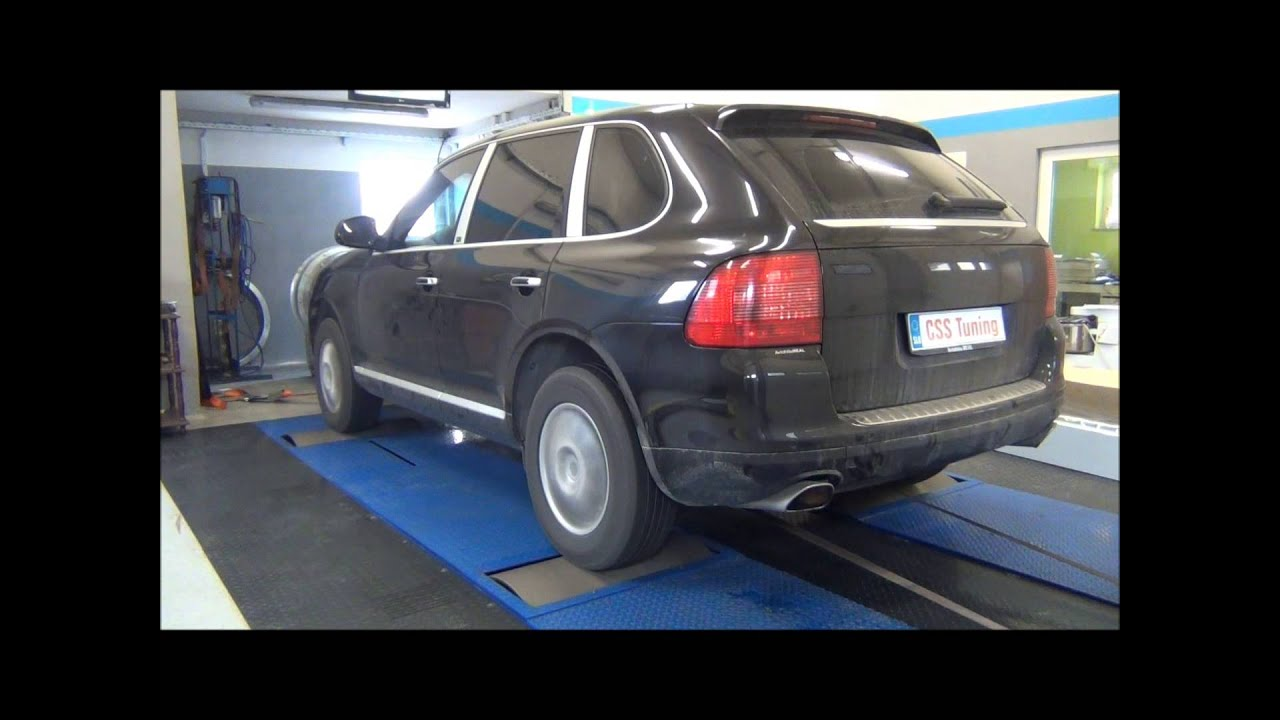css performance porsche cayenne 3 2 v6 250 hp youtube. Black Bedroom Furniture Sets. Home Design Ideas