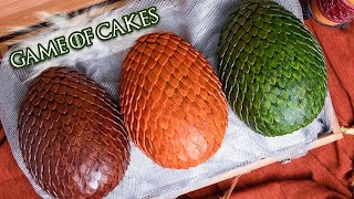 Game Of Thrones Dragon Eggs... made of CAKE! | Season 8 Finale | How To Cake It