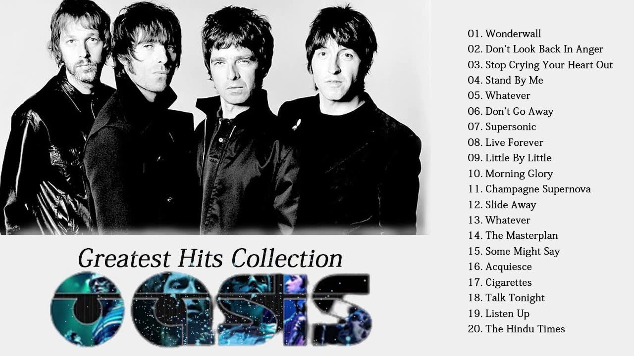 Best Songs Of Oasis Oasis Greatest Hits Full Album Oasis Collection New Youtube