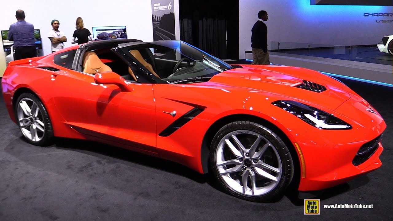2015 Chevrolet Corvette Stingray - Exterior and Interior ...