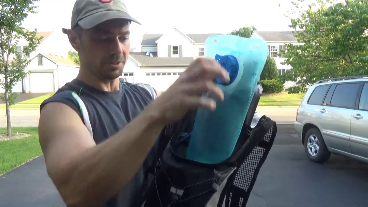 97479d565d Kuyou Hydration Backpack Review - YouTube
