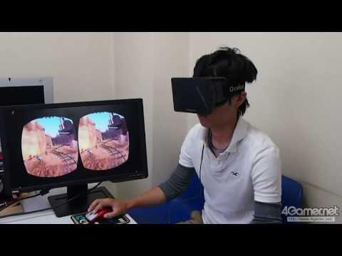 仮想現実HMD「Oculus Rift」の開発者向けキットを入手したのでさっそく