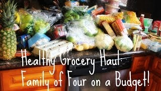 Healthy Grocery Haul (What I Considered Healthy at the Time.)