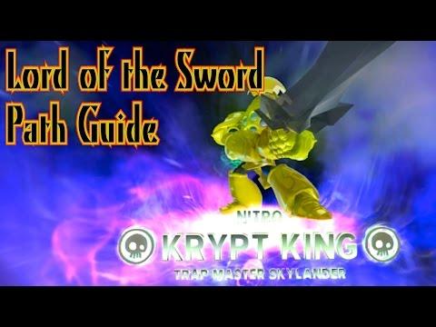 Skylanders Trap Team - (Nitro) Krypt King - Lord of the Sword Path Guide