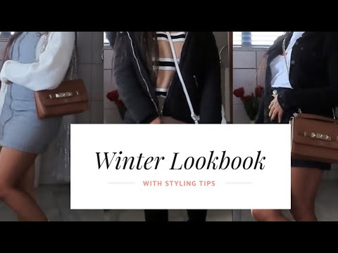 Winter Lookbook || Winter Styling Tips || Dineo Dube || South African Youtuber