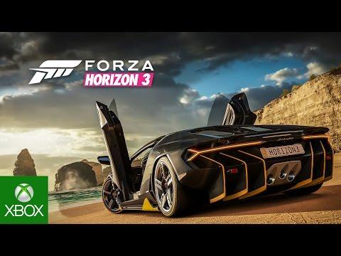 Forza Horizon 3 - Trailer oficial E3