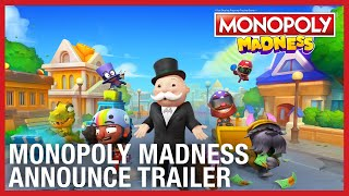 Monopoly Madness - Official Announce Trailer | PS4