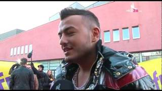 Dance24.tv: Samira bei The Dome 60 im Interview mit One Direction, Aura Dione etc.
