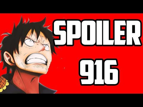 ONE PIECE CHAPTER 916 SPOILER!!