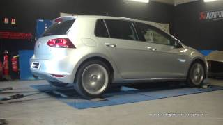 VW Golf 7 1.6 tdi 105cv Reprogrammation Moteur @ 156cv Digiservices Paris 77 Dyno