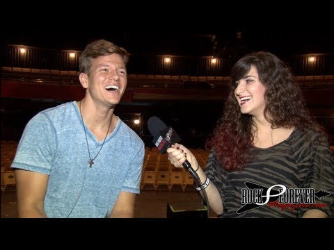 Tyler Ward Interview with Rock Forever Magazine
