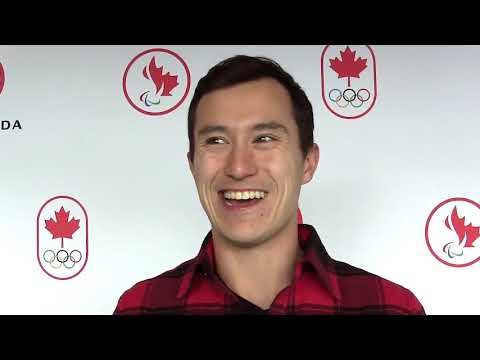 Patrick Chan on where he'll keep his gold medal