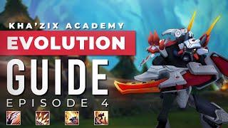 Kha'Zix Academy: COMPLETE Evolution Guide (ft. Tinjus)