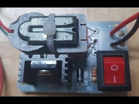 Generating 15Kv Spark Circuit
