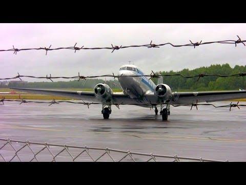 Flight on a DC-3 around Helsinki and Espoo HD