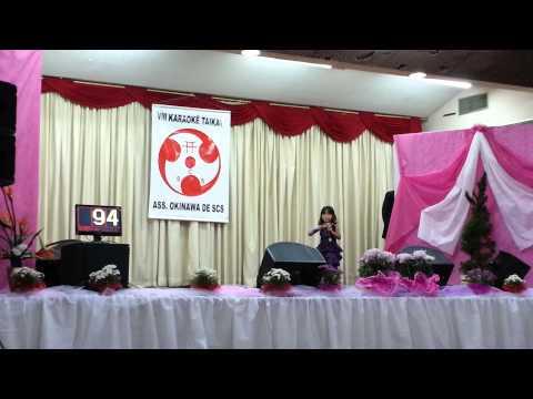 VIII karaokê Taikai - Associação Okinawa de São Caetano do Sul - Mayumi e Ana Flavia!