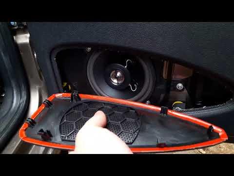 Lada Granta (Лада Гранта). Установка магнитолы и акустики. Недорогой вариант Китайца Saundmax.