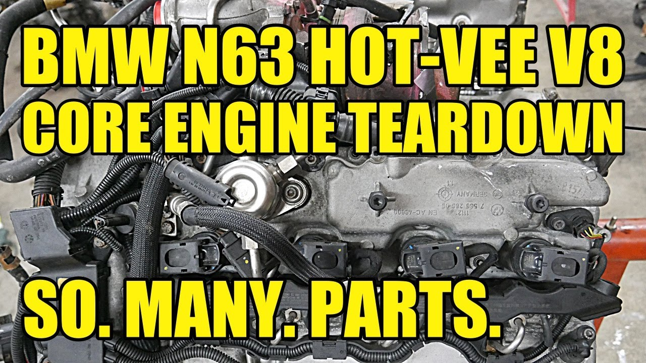 BMW N63 Hot-Vee 4.4L Twin Turbo V8 Complete Engine Teardown. THERE ARE SO MANY STEPS TO THIS