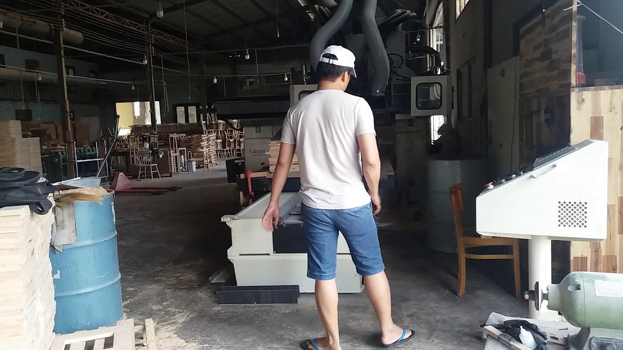 Mai Thành Trung thực hành lập trình CNC