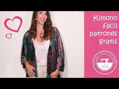 Coser un kimono
