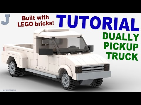 Tutorial - Lego Dually Pickup Truck