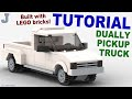 Tutorial - LEGO Dually Pickup Truck How To