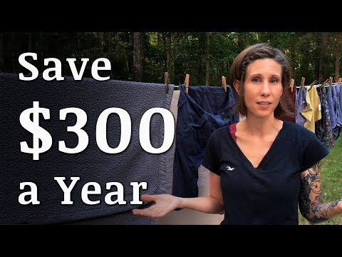 SAVE $300 With a Clothesline
