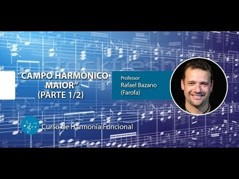 Harmonia Funcional - Campo Harmônico Maior - Parte 1/2 (AULA GRATUITA)