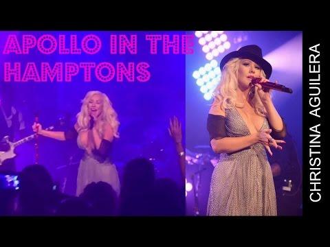 Christina Aguilera Apollo In The Hamptons (08/2015)