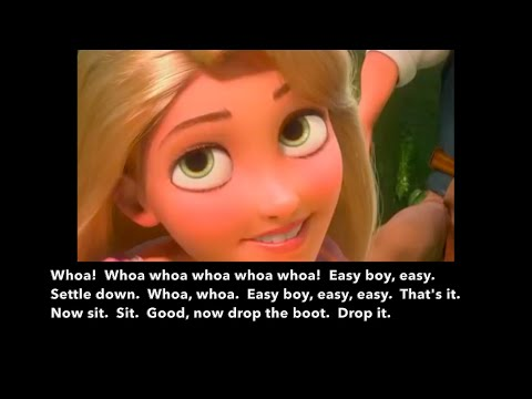 Learn/Practice English With MOVIES (Lesson #92) Title: Tangled