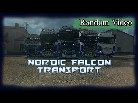 Nordic Falcon Transport bei FUI SpA in Rom