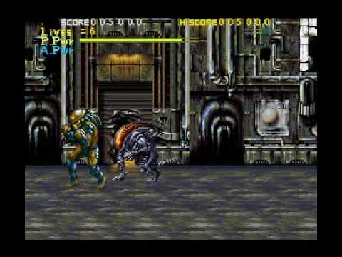 Alien vs Predator (snes) Part 1: I didn