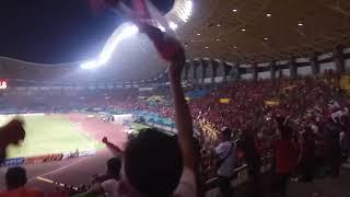 gemuruh nya seisi stadion menyambut gol timnas U23
