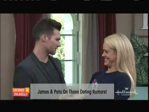 are james and peta dating in real life