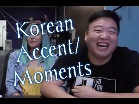 JustKiddingNews Korean Accent/Moments