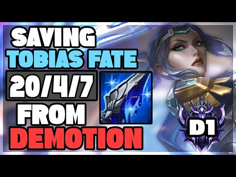 Saving Tobias Fate from DEMOTION with my MANAMUNE FIORA | ForgottenProject