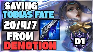 Saving Tobias Fate from DEMOTION with my MANAMUNE FIORA   ForgottenProject